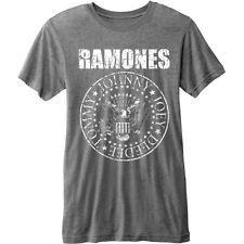RAMONES' Presidential Seal 'Burnout T-shirt - NUOVO E ORIGINALE