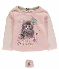MODA Crafted Pack of Three T Shirts Infant Girls Pink Mix