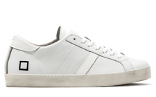 Scarpe Uomo DATE HILL LOW CALF WHITE Sneaker pelle Primavera Estate 2018