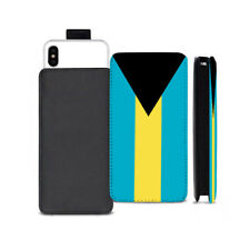 Bahamas Flag Design Printed Pull Tab Pouch Case for BLU Phone Models - 0199