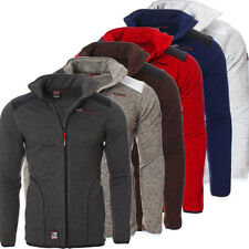 Geographical Norway Giacca Uomo Zip Felpa colore SELETTIVO NUOVO