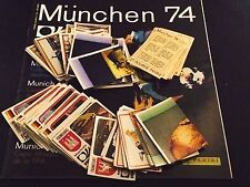 PANINI MUNCHEN (74,1974) ONLY NEW STICKERS - NUM. 1 - 200 CHOOSE FROM THE LIST