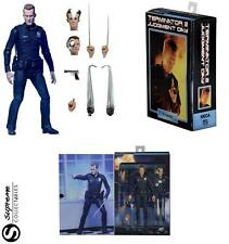 "Terminator 2 Judgement Day Ultimate T-1000 Cop 7"" Action Figure NECA x11 Parts"
