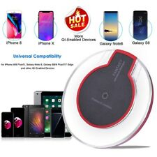 Qi Wireless Charger Charging Dock Pad 4 Samsung S8 + S7/6 EDGE Apple iPhone X 8+
