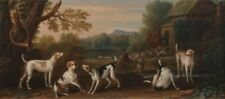 Releasing Hounds John Wootton Art Photo/Poster Repro Print Many Sizes A0/85c
