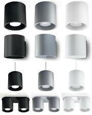 NEW! Modern Ceiling Wall Pendant Lamp LED - SOLLUX ORBIS Black White Grey | 02