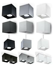 NEW! Modern Ceiling Wall Pendant Lamp LED - SOLLUX QUAD Black White Grey | 01
