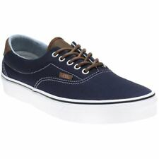 New Mens Vans Blue Era 59 Canvas Trainers Lace Up