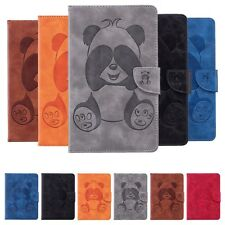 Panda Leather Magnetic Card Case Cover For Amazon Kindle Fire 7/HD 8/Paperwhite