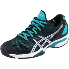 Zapatos Negro Gel Solution Speed Tenis Mujer Asics