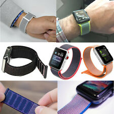 Flash Sport Loop Band Woven Nylon For Apple Watch Strap 38mm 42mm Series 1 2 3