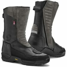 Motorcycle Rev It! Gravel Outdry Boots WP - Black UK Seller EU40