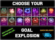 Rocket League Xbox Goal Explosion Juiced Hellfire Reaper Poly ALL - Choose one: