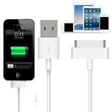 1m 2m 3m 30 Pin USB Sync Data Charger Cable for iPhone 4s 4 3GS iPad 1 2 3 iPod