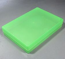 NEW A4 Translucent Green Plastic Craft Paper Home / Office Storage Box