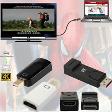 DisplayPort/Mini DP male to HDMI Female Output 4K*2K Adapter Converter For PC F1