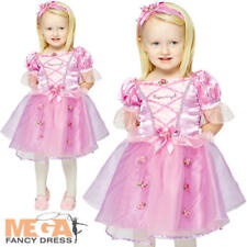 Rapunzel 3-24 Months Fancy Dress Disney Princess Tangled Girl Infant Costume New