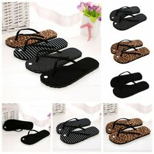 Womens Summer Beach Flip Flops Stylish Print Slippers Sandals Casual Shoes Size