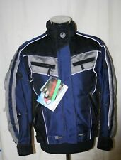 BELSTAFF LADIES CORDURA MOTORCYCLE TOURING JACKET - BLUE / GREY