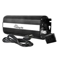Hongville Hydroponic Digital Dimmable Electronic Ballast for HPS MH Grow Light