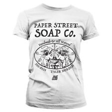 Paper Street Soap Long Sleeve Baseball T-Shirt Officially Licensed Fight Club