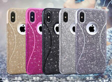 Glitter Bling Protective TPU Gel Cover Case For Samsung Galaxy S9 S9 PLUS