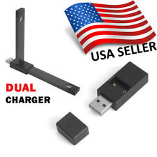 New Dual JUUL1 Charger Two ports LOWEST PRICE USB Plug Same-day Shipping