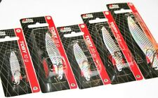 Abu Garcia Toby White Flash Spoons