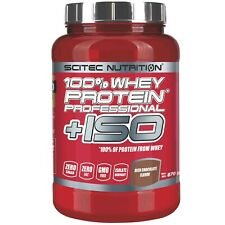 SCITEC NUTRITION 100% Whey Protein  Professional +ISO 870 g con proteine Isolate