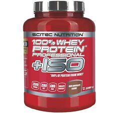 SCITEC NUTRITION 100% Whey Protein  Professional +ISO 2280 gr (2,28 Kg)