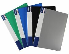 10/20/30/40/60 Pockets A4 Quality Display Book PP Plastic Wallet Presentation