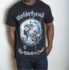 MOTORHEAD 'The World Is Yours Album ' T-SHIRT - Nuevo y Oficial