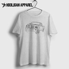 Dodge Ram 1500 2014 Inspired Car Art Men's T-Shirt