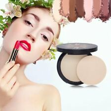 Makeup Foundations Powder Waterproof Oil-Control Face Concealer Pressed Powder Q