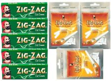 Genuine ZIG ZAG Green STD Size Paper+ ZIG ZAG REG Slim Filter TIPS FREE*