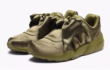 PUMA RIHANNA OLIVE BRANCH-OLIVE-OLIVE BRANCH 365054 04 BOW SNEAKER WOMENS ALL SI