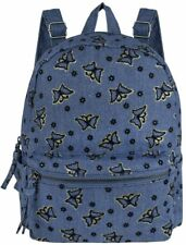 MINI Backpack Womens Soft Canvas Travel Rucksack Ladies Girls Small Shoulder Bag