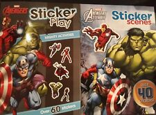 MARVEL AVENGERS ASSEMBLE STICKER SCENES PLAY MIGHTY ACTIVITIES ~ CHOOSE YOUR OWN