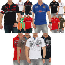 Geographical Norway Polo T-shirt a manica corta Uomo Maglietta S M L XL XXL 3XL