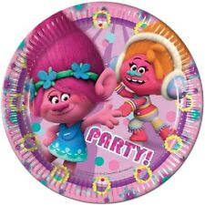 Trolls Party Tableware - Cheap Plates, Cups, Napkins, Party Bags, Balloons etc