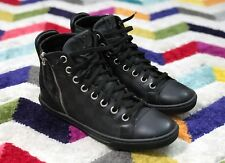 [RRP £730] Genuine LOUIS VUITTON Made-in-Italy Damier Graphite High Top Sneakers