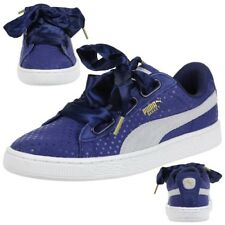 Puma Basket Heart Denim w Sneaker Women's Girls' Shoes 363371 01