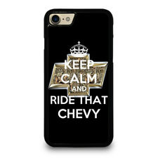 KEEP CALM AND RIDE THAT CHEVY iPhone SE 5C 6/6S 7 8 Plus X/XS Max XR Case Cover
