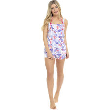 Octave Ladies Cotton Rich Printed Playsuit Summer Beach Wear