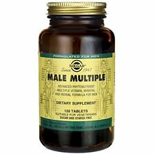 Solgar Male Multiple Tablets 60 Or 120 Multi Vitamins For Men Of All Ages