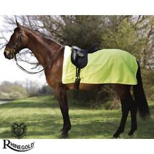 HIGH VIS – Rhinegold 3/4 Ride-On Rug – BE SAFE BE SEEN – Pony, Cob, Full size