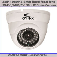 1080P CCTV HD-TVI 2.4MP 30M IR HD WDR AHD TVI CVI Dome Camera OYN-X 4X-EYE-FW24