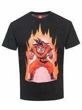 DRAGON BALL Z SONGOKU on Fuego Hombre Camiseta
