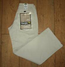 "New Women's Wrangler Lake Jeans Regular Fit Size 10 W28"" L32"" Straight Leg Ivory"
