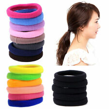 100Pcs Women Girls Hair Band Ties Rope Ring Elastic Hairband Ponytail Holder New
